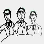3 guys by Stacey Lazarus