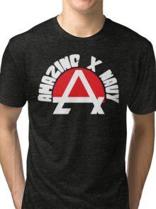 Amazing X Navy Tri-blend T-Shirt