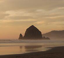Haystack Rock by CherylC