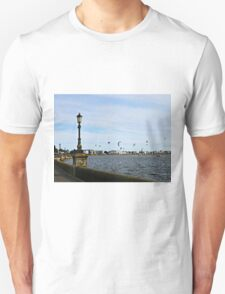 Kite Surfing at Poole Harbour. Unisex T-Shirt