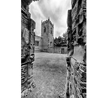 St Mary's Church, Sutton Scarsdale Photographic Print