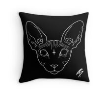 Sphynx Throw Pillow