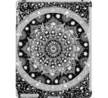 Black and White Mandala iPad Case/Skin