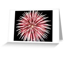 Sea Anemone of Light Greeting Card