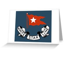 White Star Line (Titanic) Greeting Card