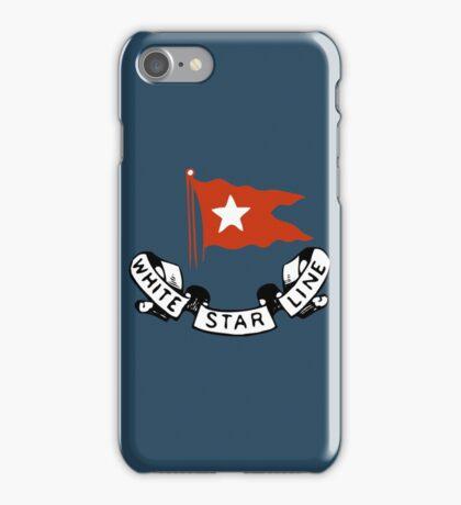 White Star Line (Titanic) iPhone Case/Skin