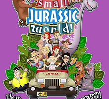 It's a Small Jurassic World (1A) by Robiberg