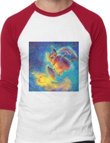 Ikou the Cute Bat Men's Baseball ¾ T-Shirt