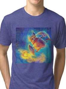 Ikou the Cute Bat Tri-blend T-Shirt