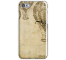 Vintage Steampunk Travel Pattern iPhone Case/Skin
