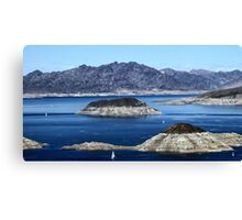 Lake Mead Sailing Canvas Print