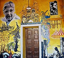 Mural from Parral, Mexico by thebigmozey