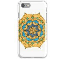 Mandala Drawing #9 Original Design by TAM iPhone Case/Skin
