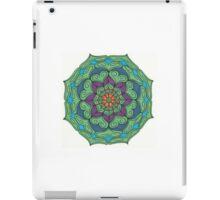 Mandala Drawing #10 Original Design by TAM iPad Case/Skin
