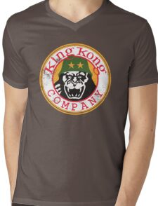 King Kong Company Mens V-Neck T-Shirt