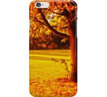 Yellow Autumn iPhone Case/Skin