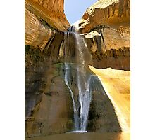 Lower Calf Creek Falls  Photographic Print