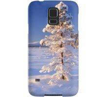 Snow covered trees Samsung Galaxy Case/Skin