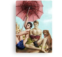 Hannigram summer Canvas Print
