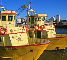 Two Little Maids from Poole by RedHillDigital