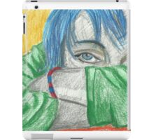Yet another self portrait iPad Case/Skin