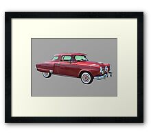 1950 Studebaker Champian Antique Car Framed Print