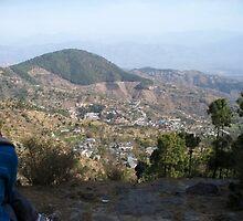 Choki Angmo Enjoying the View by Angie Spicer