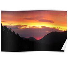 Sunrise at RMNP Poster