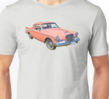 1961 Studebaker Hawk Coupe Classic Car Unisex T-Shirt