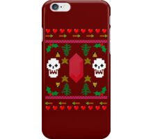 Video Game 8-Bit Holiday Sweater iPhone Case/Skin