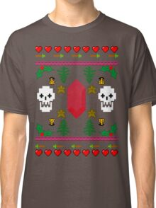 Video Game 8-Bit Holiday Sweater Classic T-Shirt