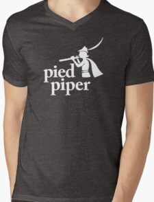 Pied Piper (Version 2) Mens V-Neck T-Shirt