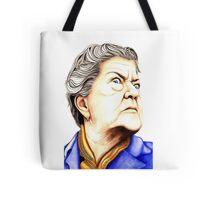 Strong Women characters of Coronation Street : Ena Sharples 390 views Tote Bag