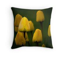 Yellow Tulip #2 Throw Pillow