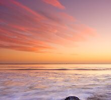 Sunrise & Crab Nets by ShawnsPhotos