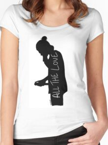 Harry Silhouette Women's Fitted Scoop T-Shirt