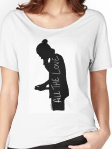 Harry Silhouette Women's Relaxed Fit T-Shirt