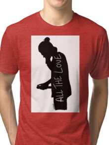 Harry Silhouette Tri-blend T-Shirt