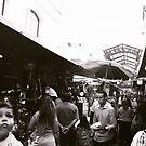 LA alley way by Santamariaa