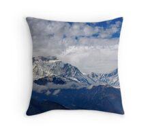 Himalayan Rhapsody Throw Pillow