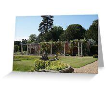 Somerleyton Gardens Greeting Card