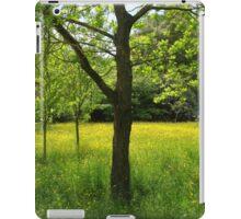 Buttercup meadow iPad Case/Skin
