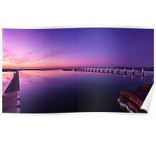 Tidal Pool Sunrise Poster