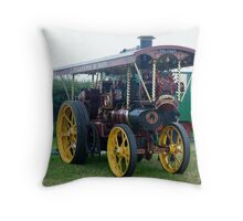 Traction Engine Throw Pillow