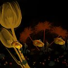 FLOWERED WALLPAPER by Spiritinme