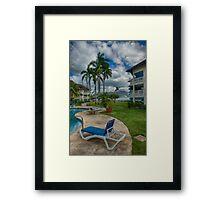 Backyard Dream Framed Print
