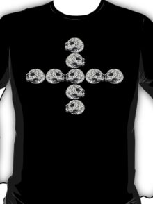 Granite Skull Stack (Cross) T-Shirt