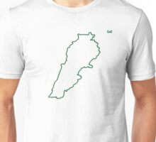"Lebanon ""Citizen of the Earth"" large Unisex T-Shirt"