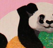 Gumdrop Protecting Panda Sticker