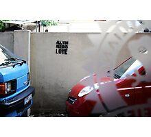 Love on the streets, Hamra. Photographic Print
